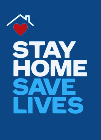 Stay Home Save Lives Covid19 Postcards